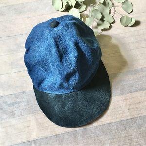 brand new never worn vintage Vintage 1970s Newsboy denim hats